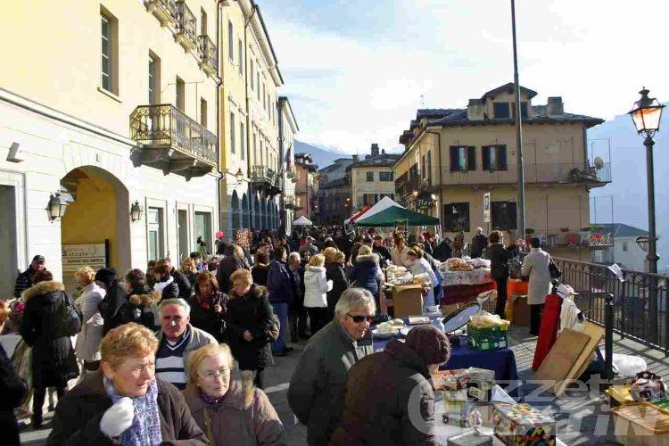 Châtillon, boom di visitatori per il Petit Marché du Bourg