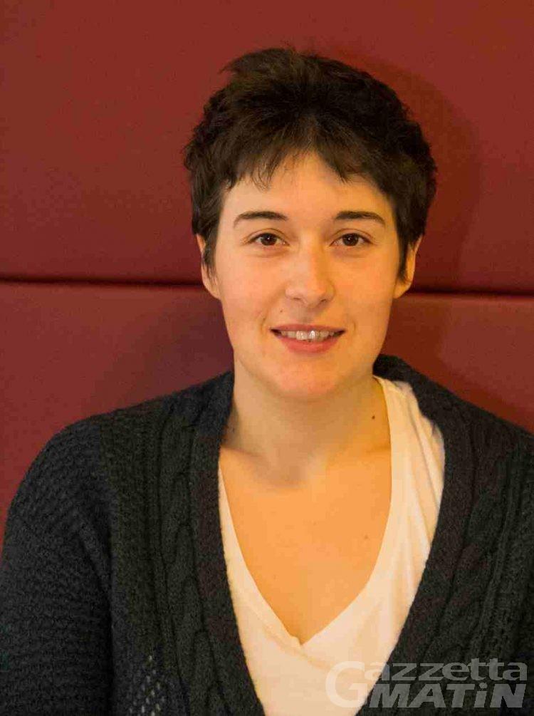 Alessandra Borre rappresenterà la Valle a Bruxelles