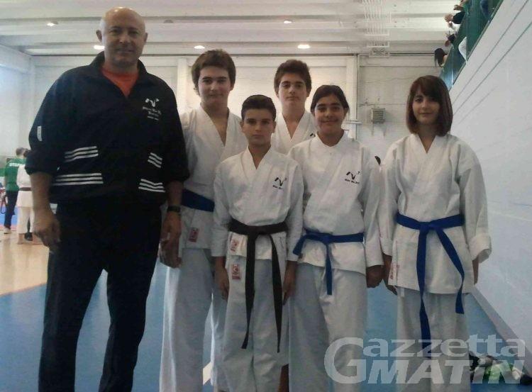 Karate: bravi i giovani dello Shin Bu Kai