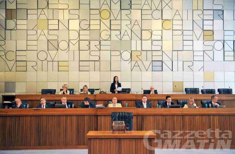 Il bilancio sui banchi del Consiglio regionale