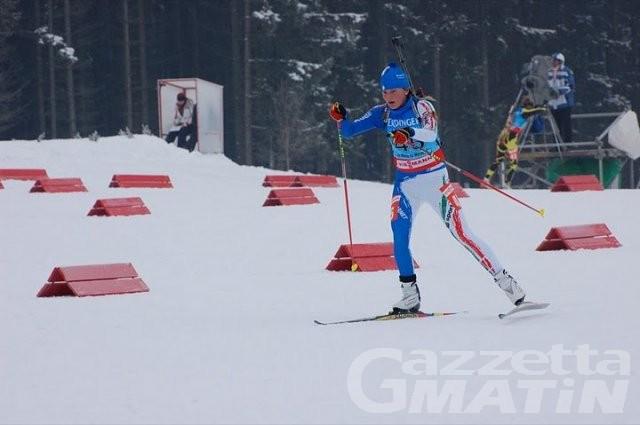 Biathlon: Nicole Gontier a punti in Coppa del Mondo