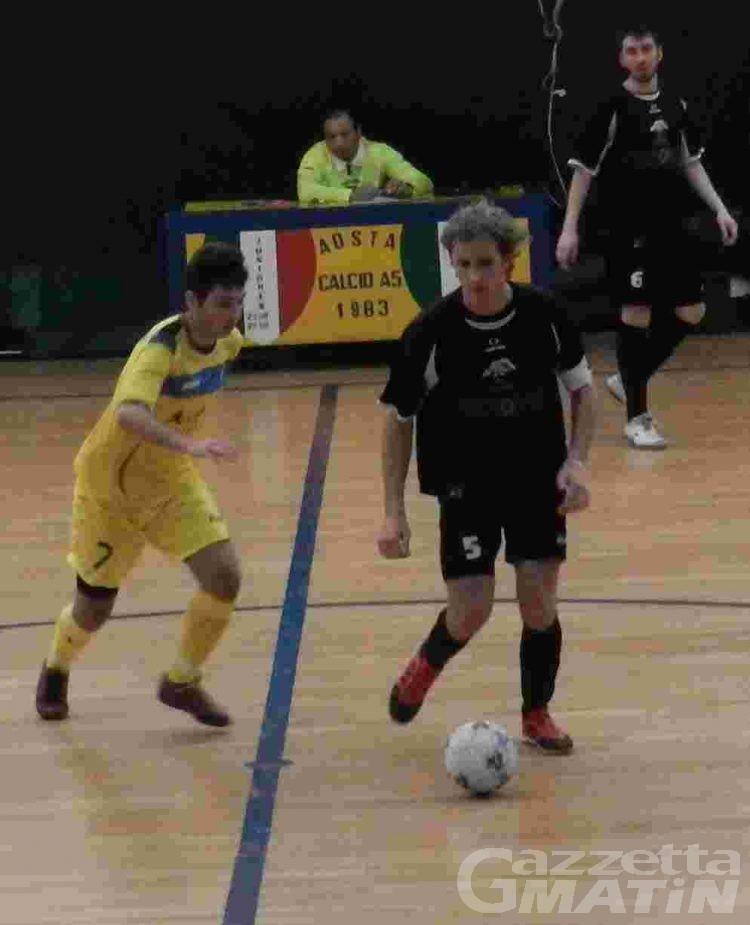 Calcio a 5: vincono Aosta e Aymavilles