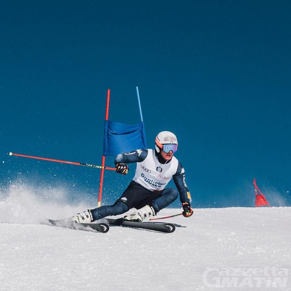 Sci alpino: stagione finita per Guglielmo Bosca
