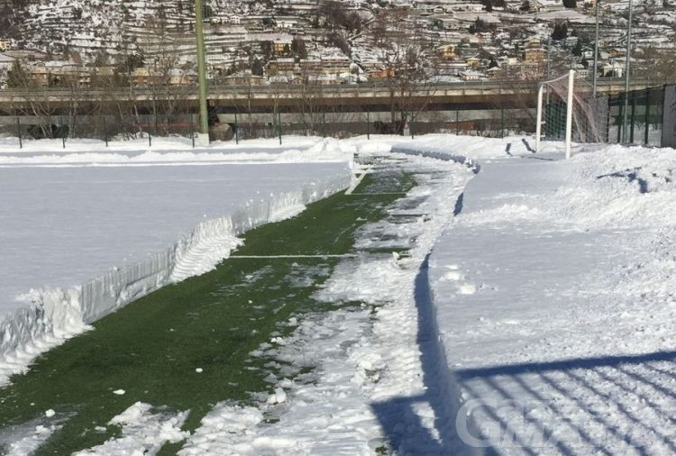 Calcio: rinviata la gara Aygreville-Pro Settimo Eureka