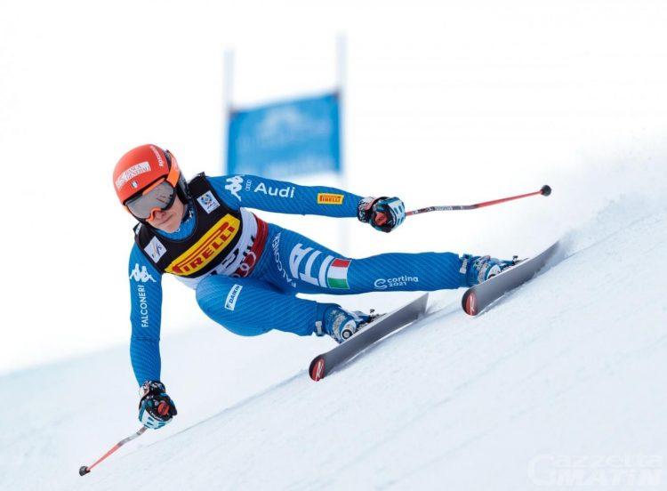Sci alpino: Federica Brignone 16ª in Val d'Isère