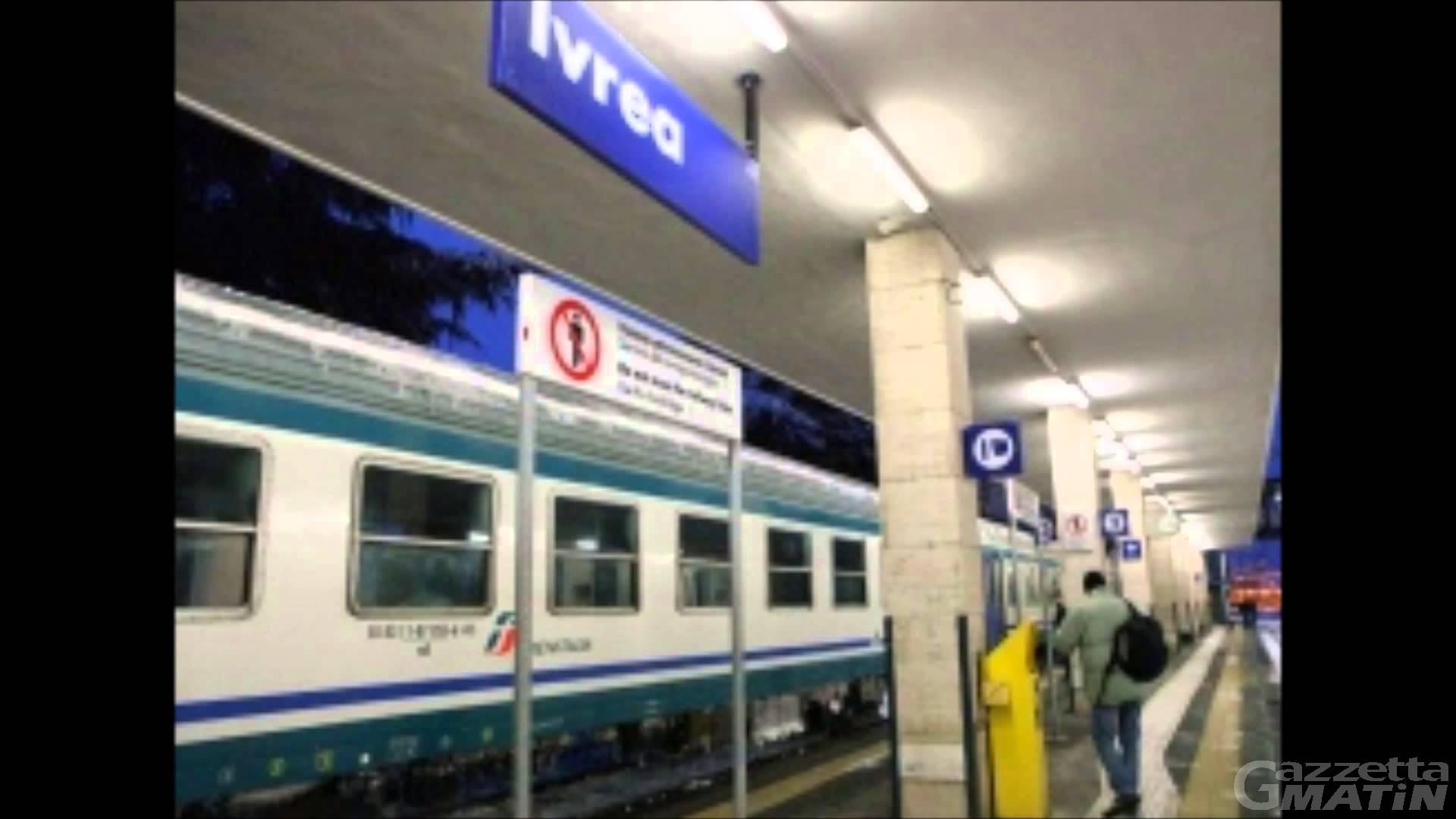 Maltempo, l'odissea dei passeggeri del treno Ivrea – Aosta