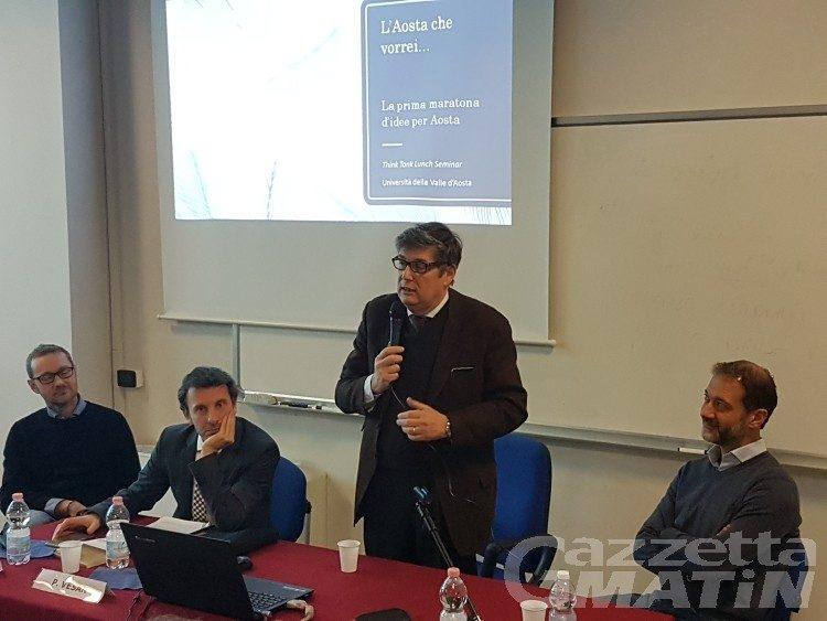 Una maratona di idee per progettare l'Aosta del futuro