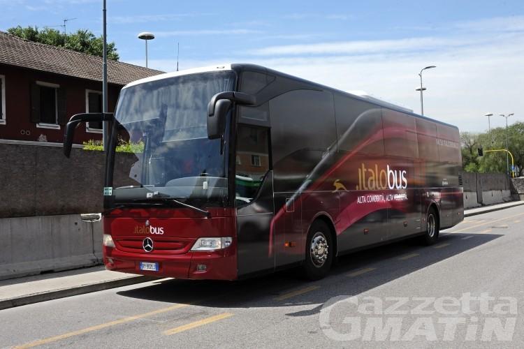 Trasporti, dove non arriva il treno, arriva Italobus