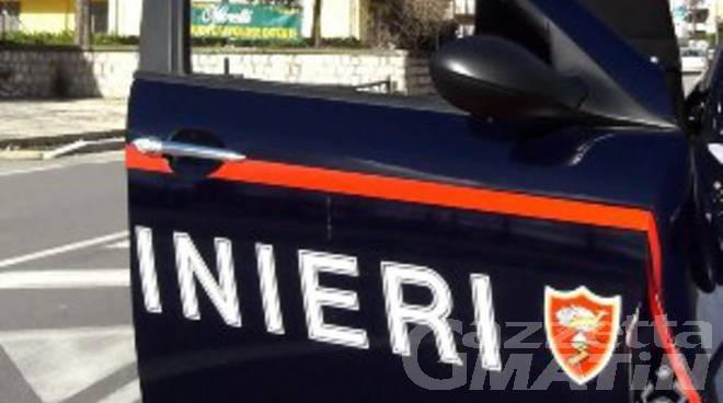 Detenzione di droga e resistenza a pubblico ufficiale, due giovani aostani arrestati dai carabinieri