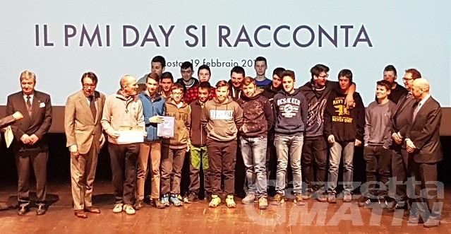 PMI Day, studenti protagonisti nelle aziende valdostane