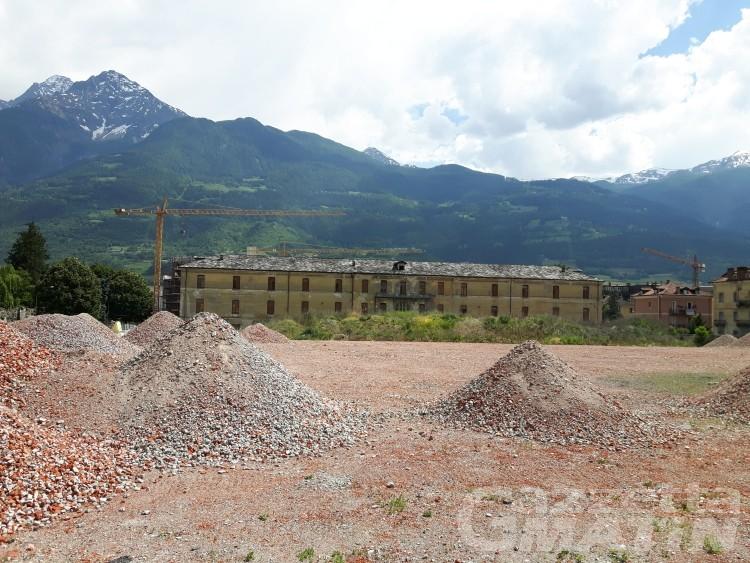 Aosta: entro l'estate il parcheggio della nuova università