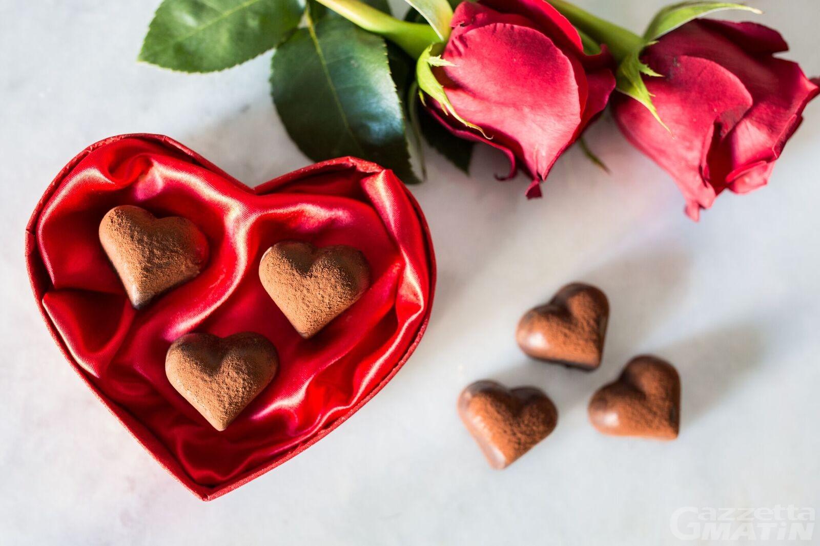 Pasticceria, ecco Sogno il cioccolatino per gli innamorati di Collomb