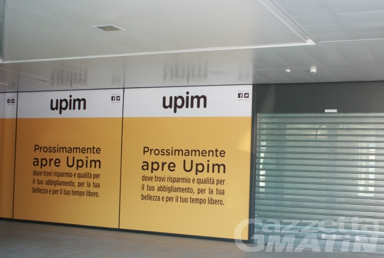 Lavoro: UPIM apre in Valle e assume