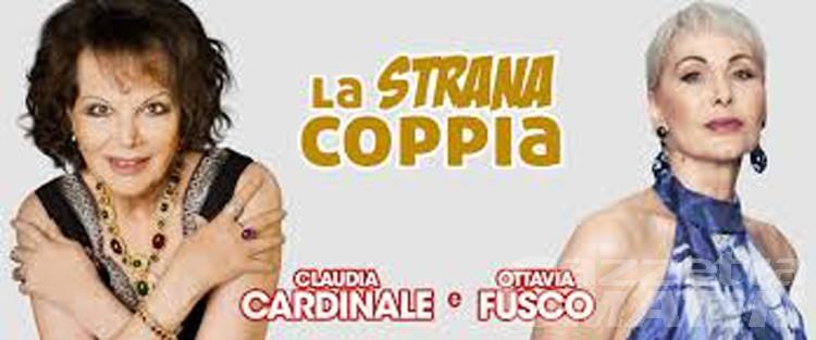 Teatro, la strana coppia Cardinale-Fusco ad Aosta