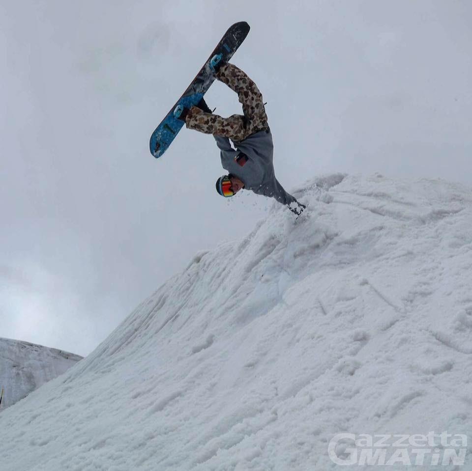 Snowboard: rossoneri in evidenza in Coppa Italia