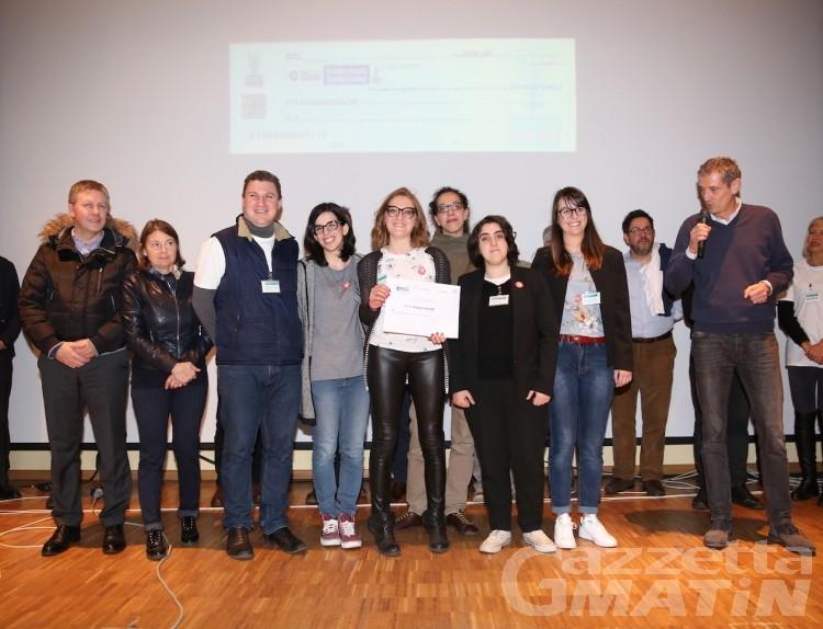 Hackathon Aosta, vince il progetto del team Building
