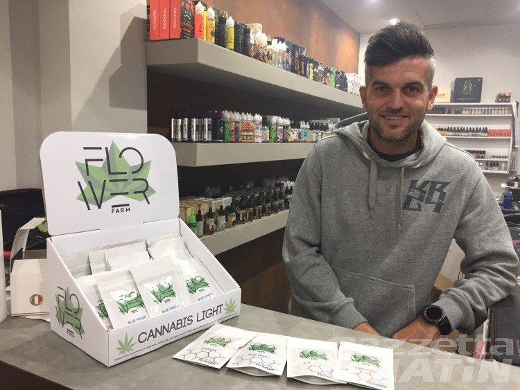 Cannabis light, 'boom' di vendite anche in Valle