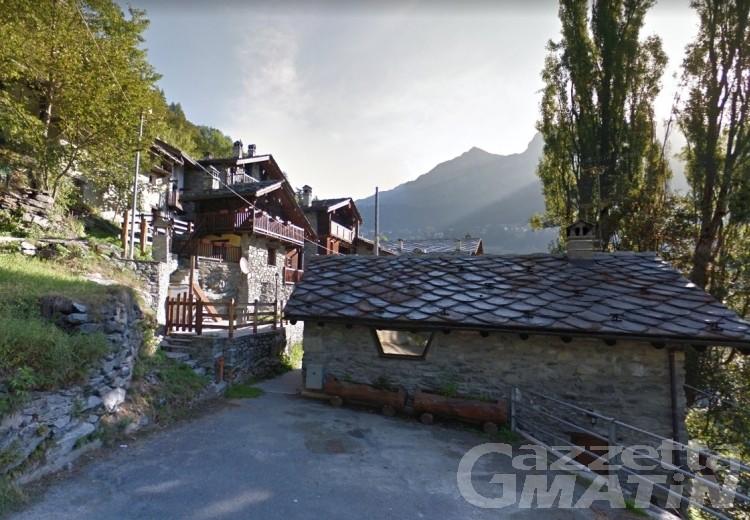 Caduta massi: evacuate otto persone a Valtournenche