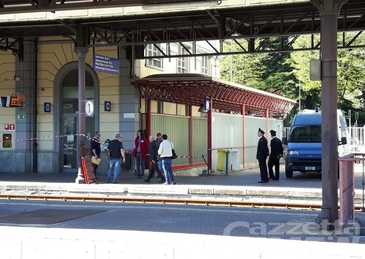 Finta bomba alla stazione di Aosta, chiesta l'archiviazione