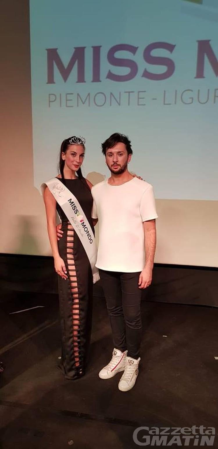 Bellezza, Silvia Toscano è Miss Mondo Valle d'Aosta
