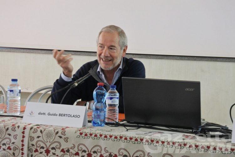 Terremoto: in VdA Guido Bertolaso parla di viabilità e soccorsi