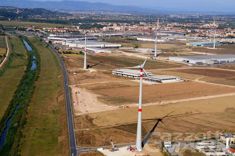 CVA acquista parco eolico Pontedera: energia pulita per 3000 famiglie