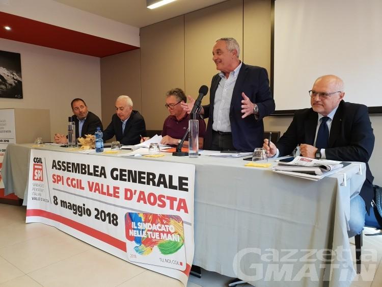 Spi Cgil VdA: Domenico Falcomatà nuovo segretario