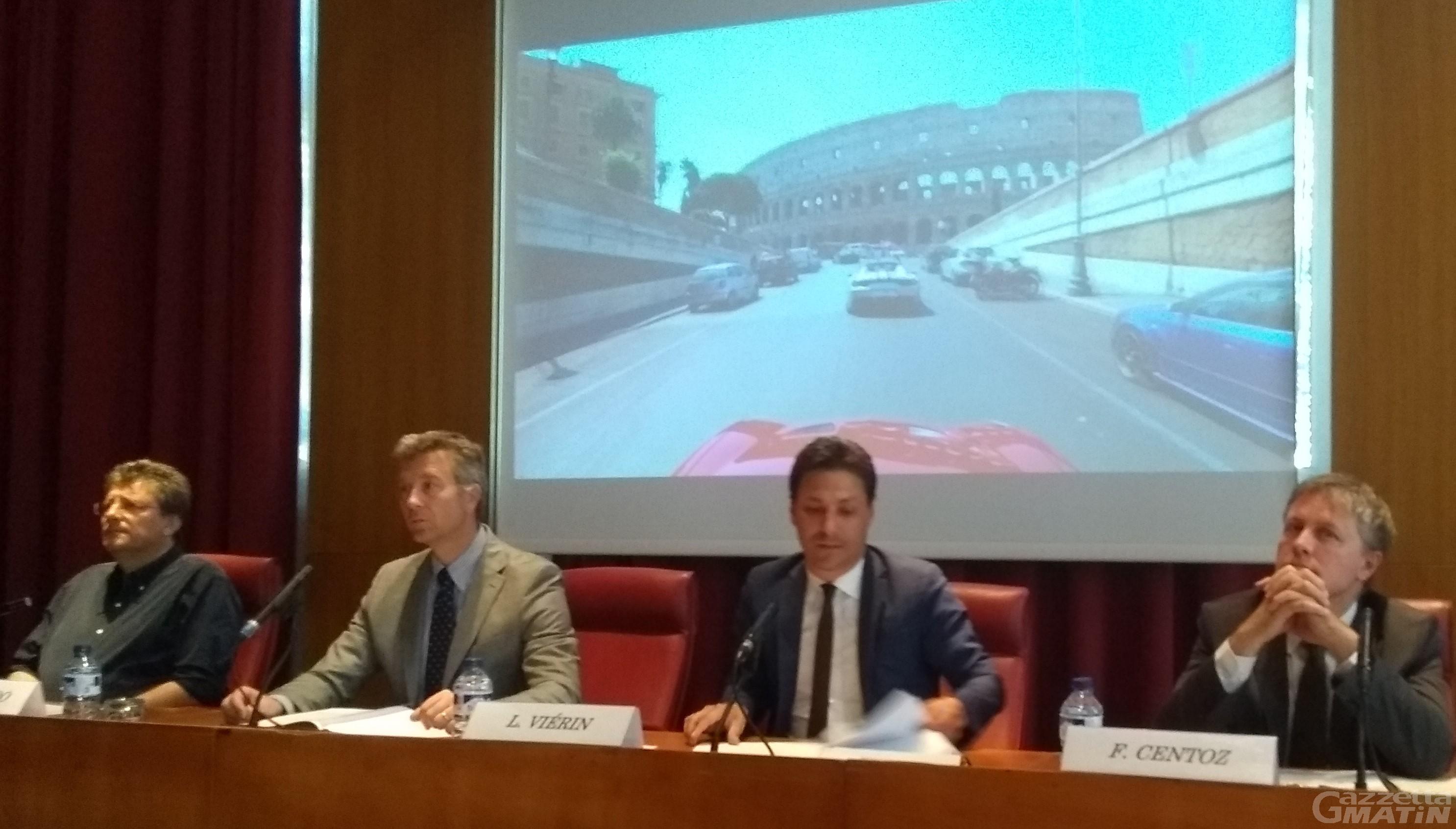 """100 appassionati del """"cavallino"""" in Valle per la """"Ferrari Cavalcade"""""""