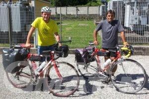 Avventura: anche un valdostano alla Capo Nord-Tarifa in bici