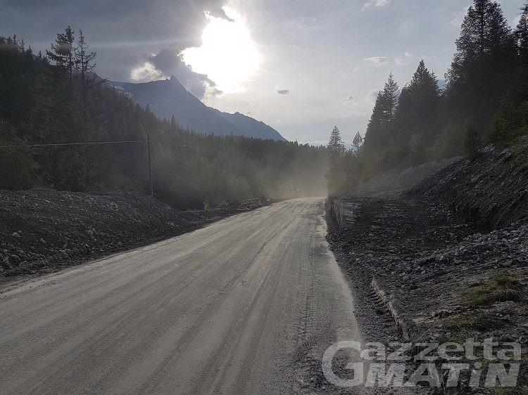 Cogne: riaperta la strada per Lillaz