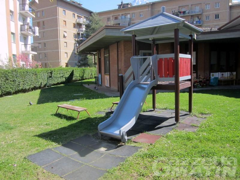 Asili nido: nuova gara d'appalto per tre strutture comunali di Aosta
