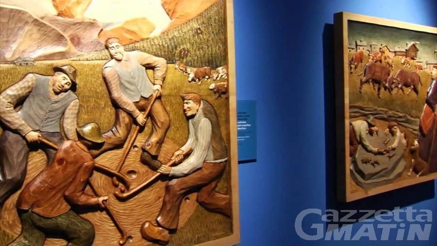Mostre: visita guidata all'esposizione di Giovanni Thoux a Bard