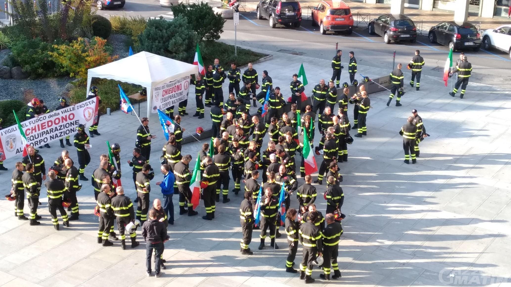 Vigili del fuoco: attivato un tavolo tecnico con la Regione