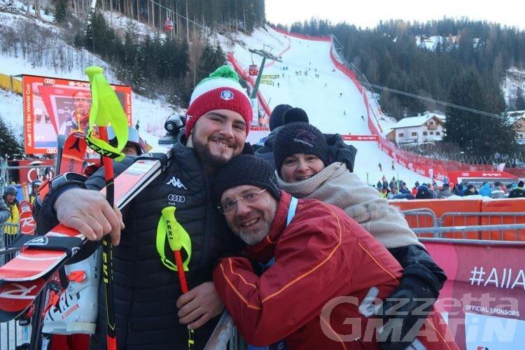 Sci alpino: Federico Simoni 56° sulla mitica Saslong