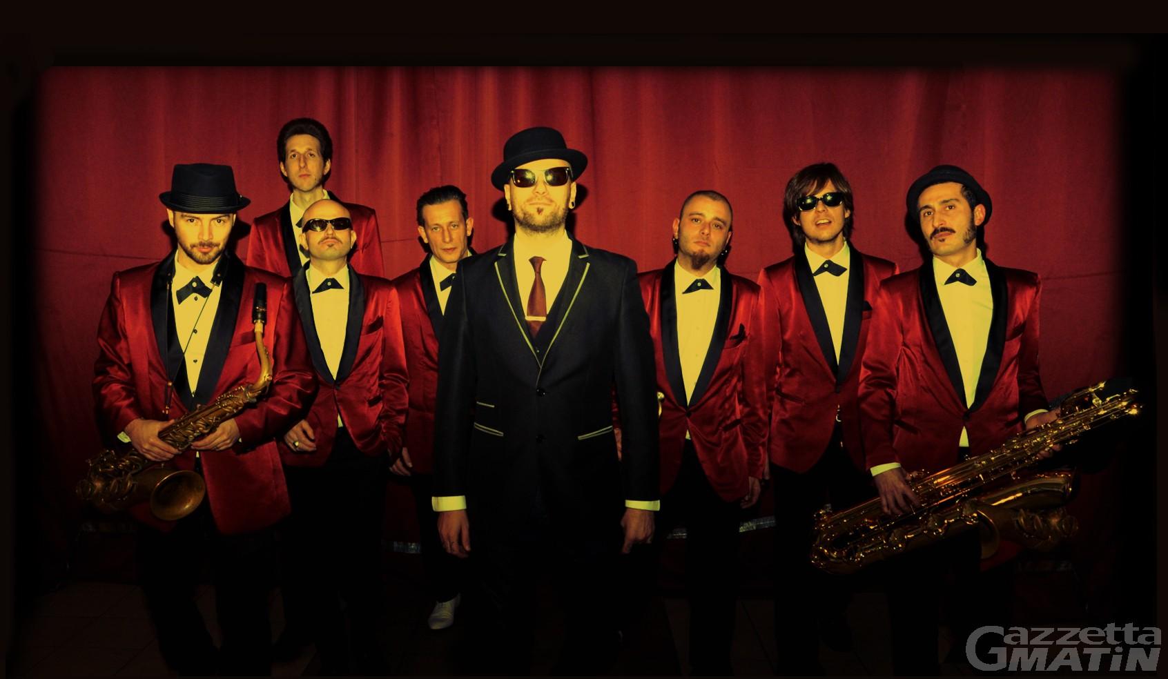 Aosta: a Capodanno si balla con Olly Riva & The Soul Rockets