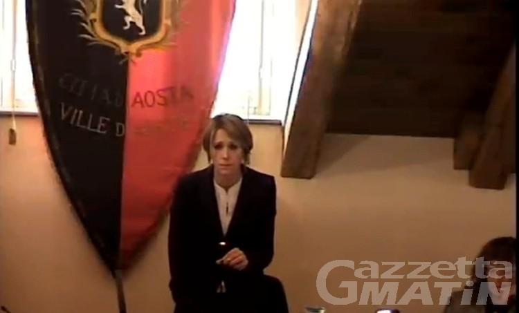 Aosta: Sara Favre prima donna presidente del Consiglio comunale del capoluogo