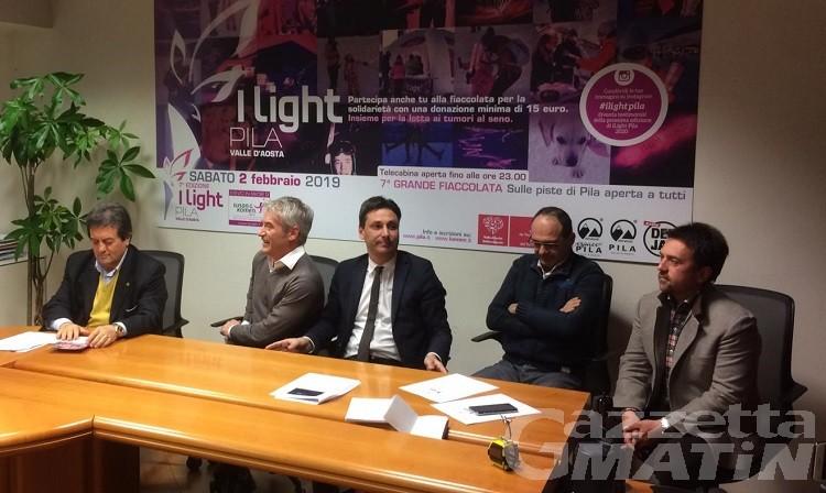 I light Pila, la settima edizione si svolgerà sabato 2 febbraio