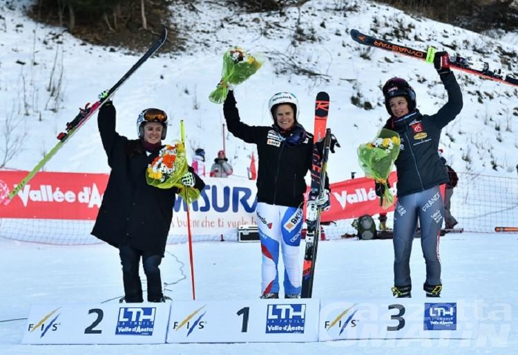 La Thuile, la Coppa di Telemark parla straniero