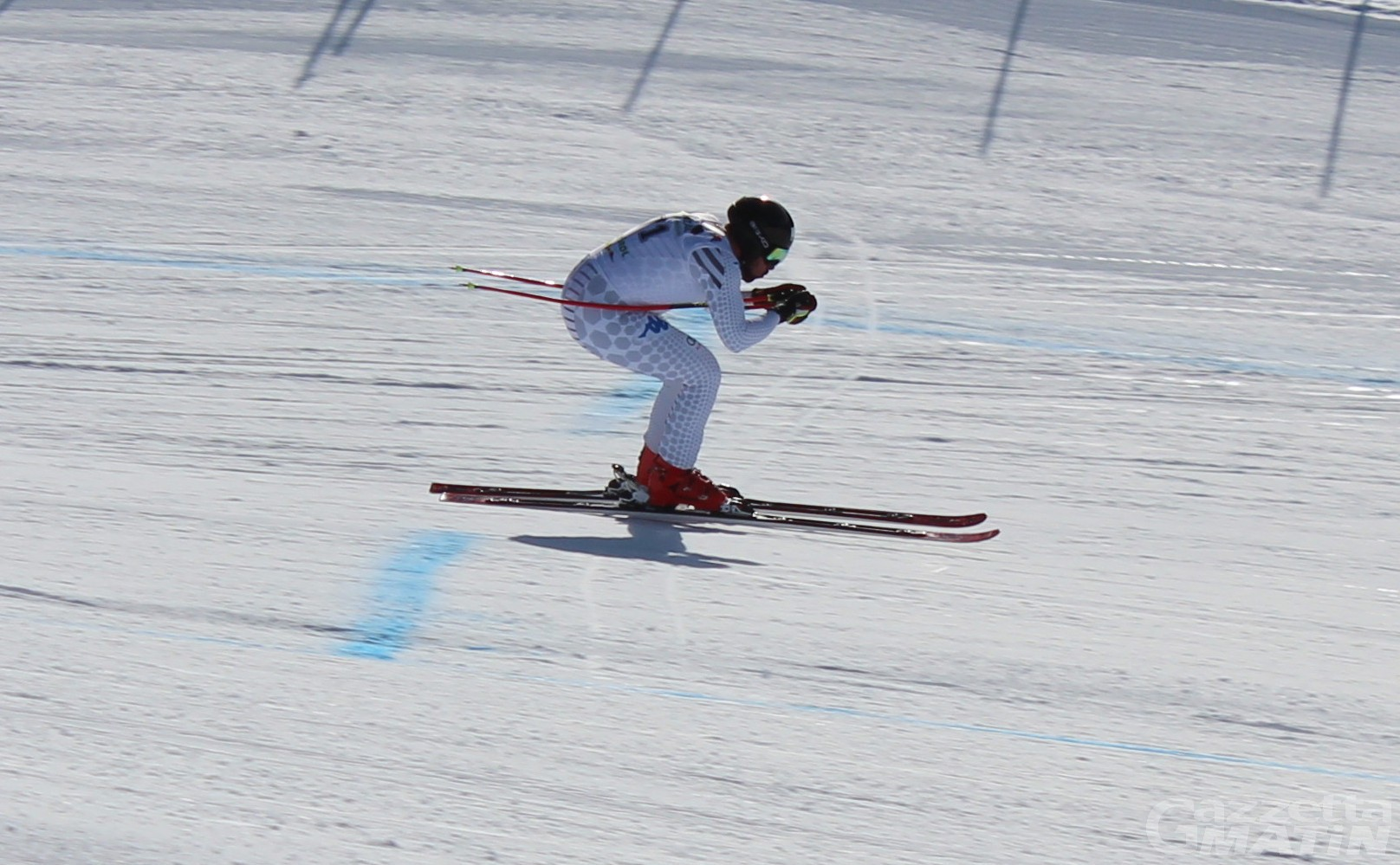 Sci alpino: Henri Battilani quarto nella discesa tricolore