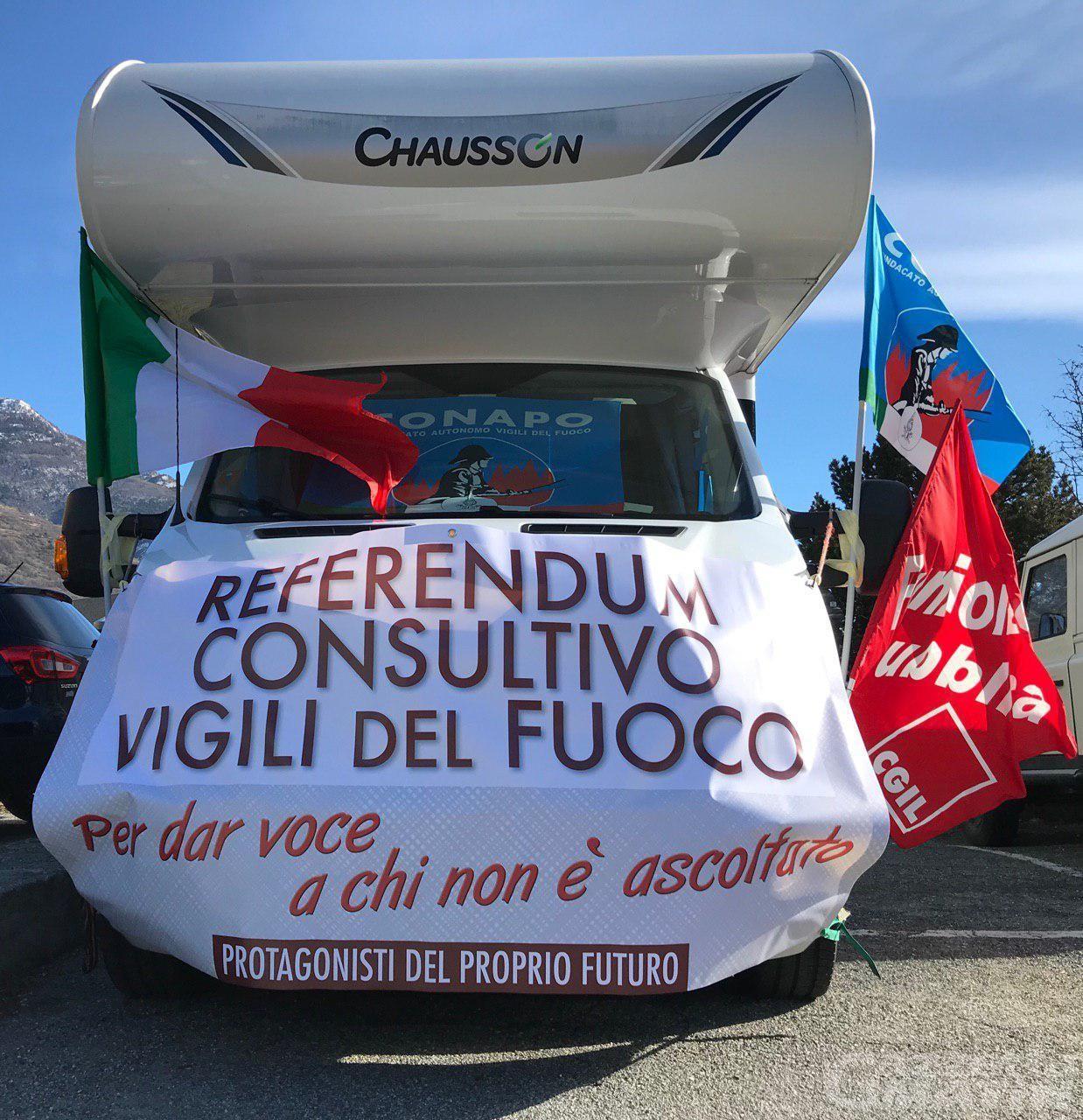 Referendum Vigili del Fuoco: «Roma attende le mosse della Regione»