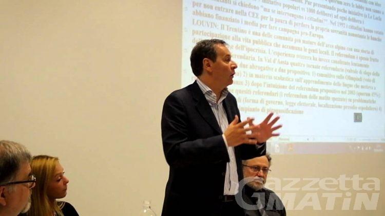 Regione VdA: Louvin nominato presidente della Paritetica