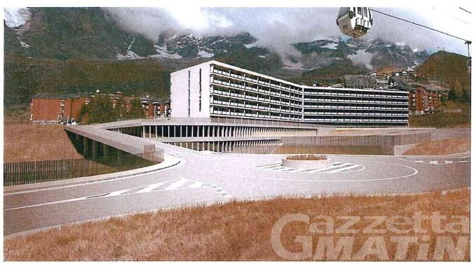 Valtournenche: a Breuil Cervinia scatenati contro il nuovo mega hôtel