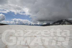 Clima: la sabbia del Sahara fonde le nevi sulle Alpi più rapidamente