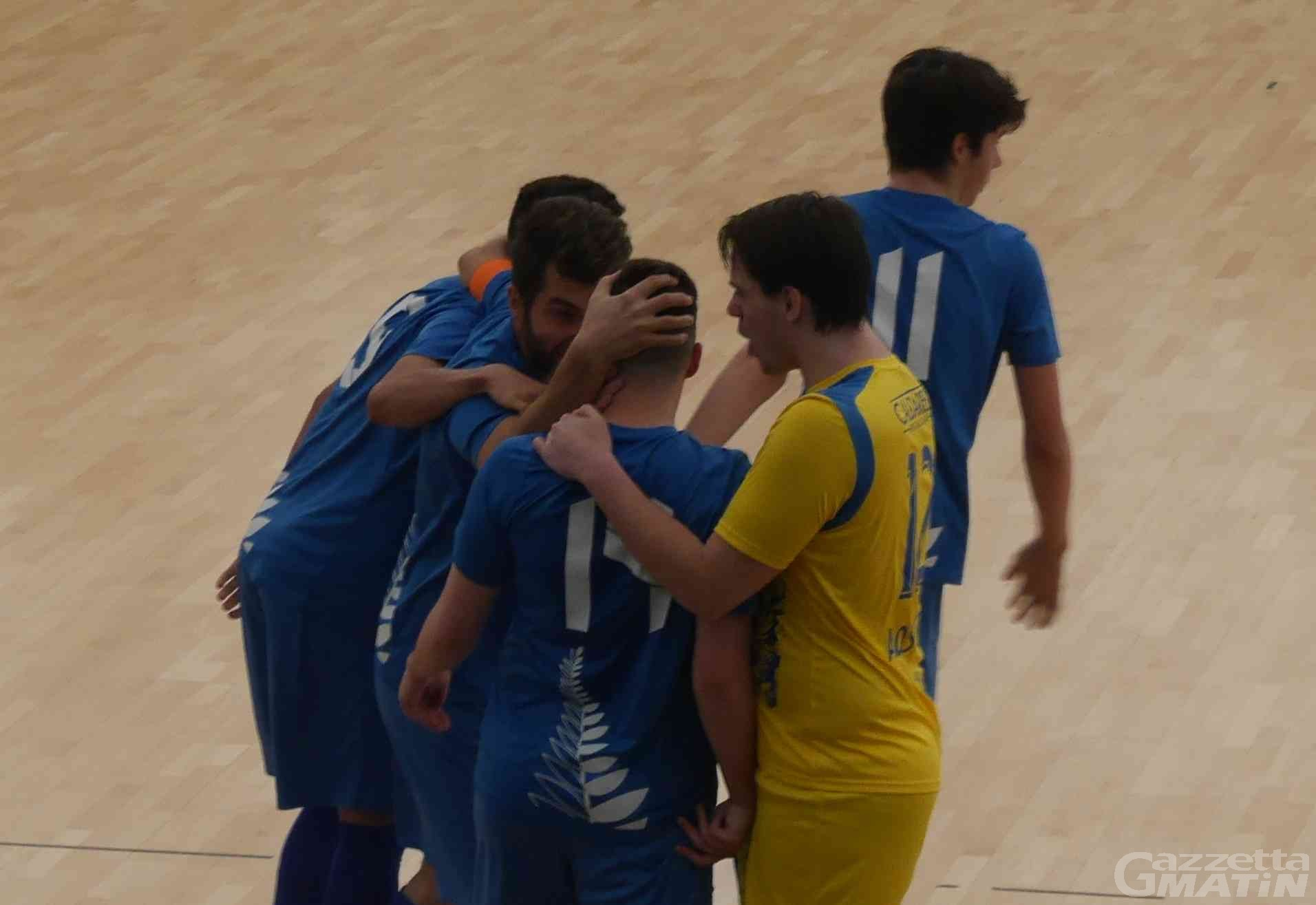 Calcio a 5: l'Aosta Calcio 511 avanza in Coppa della Divisione