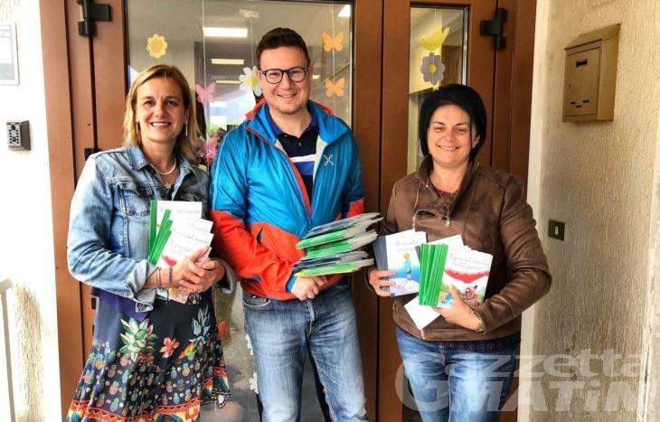 Donnas, 100 libri per bambini acquistati con i gettoni di presenza dei consiglieri comunali