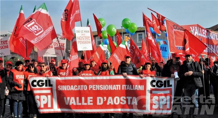 Pensionati: oggi a Brissogne il segretario generale Spi Cgil Ivan Pedretti