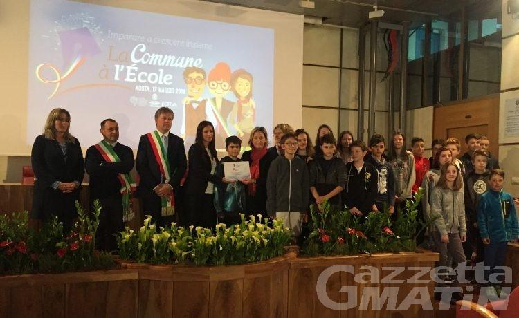Educazione civica a scuola: la San Francesco di Aosta vince il viaggio a Parigi