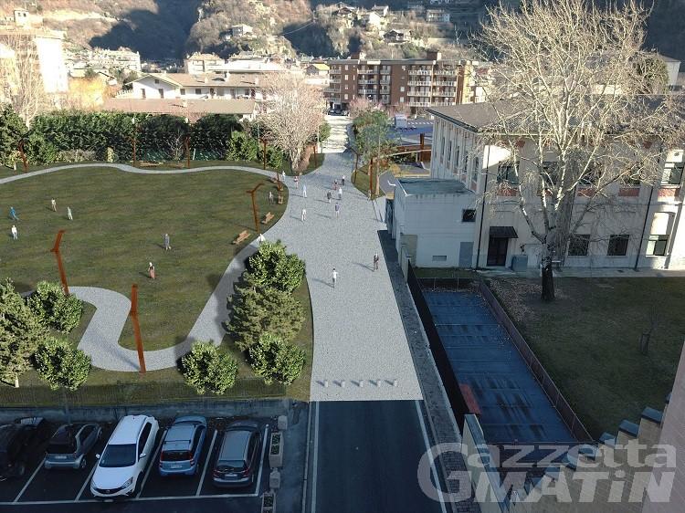 Verrès, l'area ex Brambilla diventa parco green innovativo