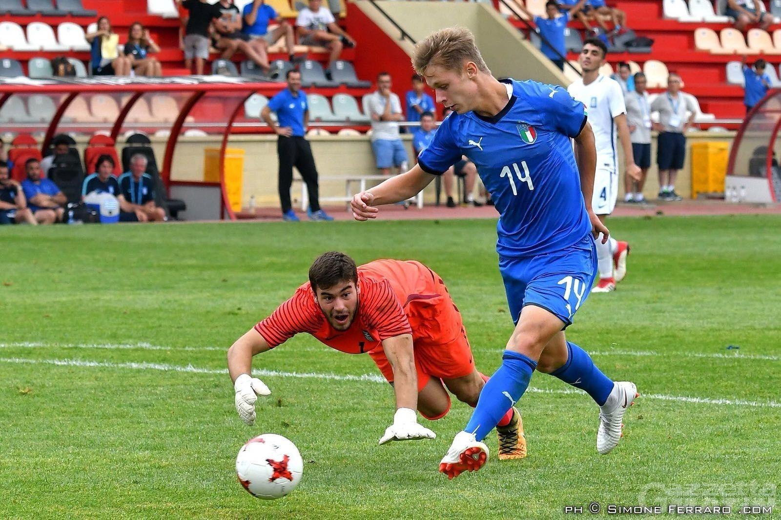 Calcio: Hans Nicolussi Caviglia agli Europei Under 19
