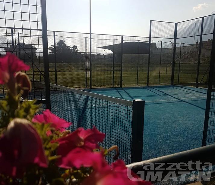 Giunta Aosta: rinnovata la gestione del tennis piazza Mazzini